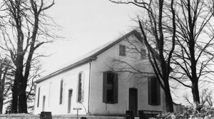 a meetinghouse in the early 20th century